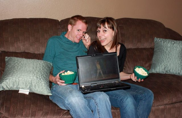 Funny YouTube Videos Date Night: 2.5 hours of free laughter with a curated YouTube playlist of PG videos, a free date idea that's also an at home date idea!