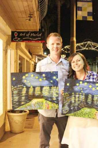Paint Your Own Van Gogh: Part 3: Starry Night Over the Rhone