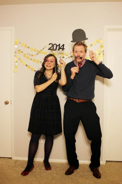 New Year's Photo Booth