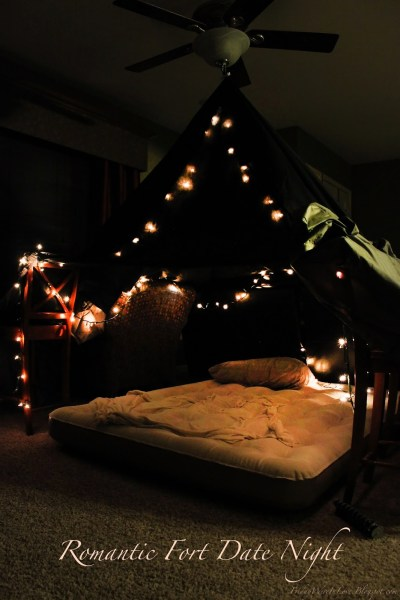 12 Months of Dates: January: Romantic Fort Night