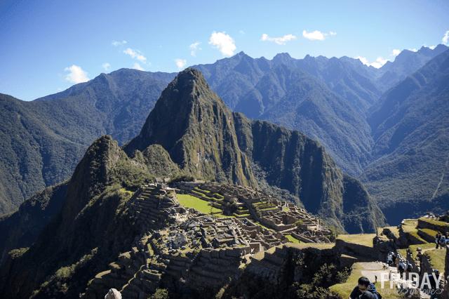 Visit Machu Picchu in Peru