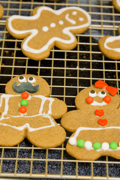 Holiday Baking Night: Gingerbread Cookies