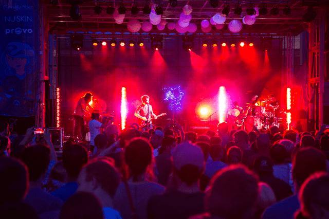 Rooftop Concert Series date night