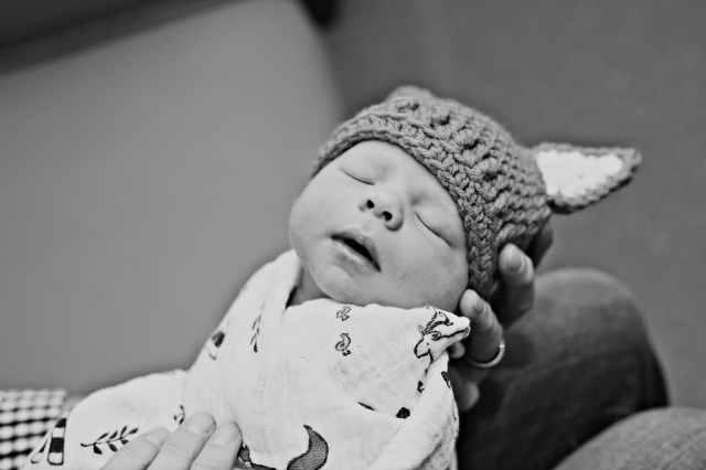 Precious Newborn Hospital Photo Session