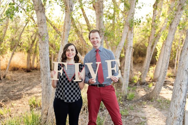 Friday We're in Love: Anniversary Photoshoot
