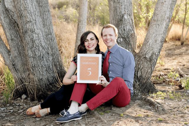 Friday We're in Love: Wedding Anniversary #5 Photoshoot