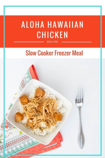 Aloha Hawaiian Chicken- Crock Pot Meal