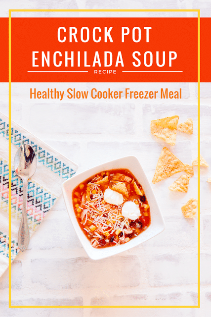 Crock pot enchilada soup recipe