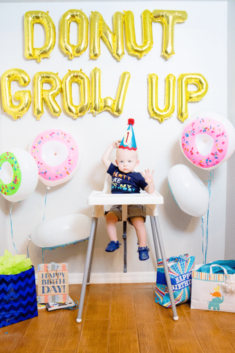 Donut Grow Up 1st Birthday Party