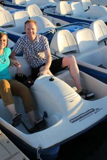 12 Months of Dates May: Romantic Paddle Boating