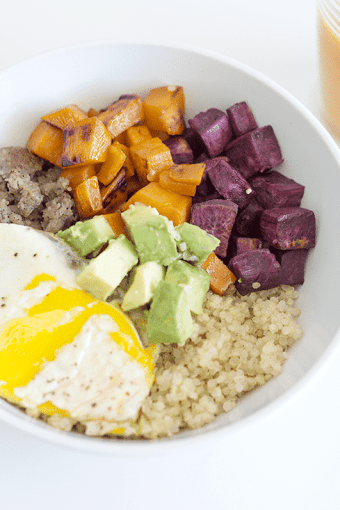 Protein Packed Savory and Sweet Breakfast Bowl Recipe