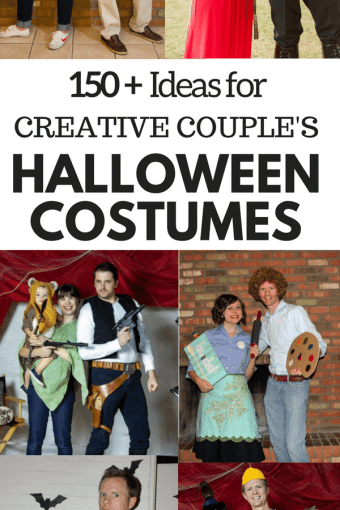 Over 150 Couple's Halloween Costume Ideas (With Family Costume Ideas Too!)