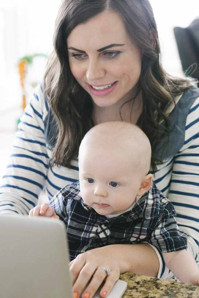 20 work from home mom tips: how to work from home with a toddler or work from home with a baby and juggle it all!