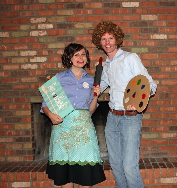 DIY Couple's Halloween Costume Ideas: 150 plus creative couple's Halloween Costume Ideas, with several that include easy family Halloween Costumes to add a themed family Halloween costume with a baby or young children