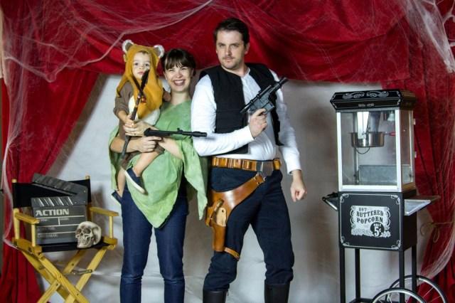 Creative Couple's Halloween Costume Ideas: Star Wars