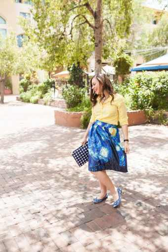 Artistic Date Night Outfit and The Starry Night Skirt