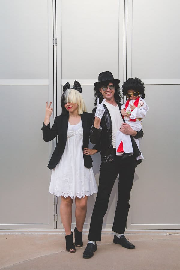 Family Halloween Costume Idea: Pop Stars: Pop Icons throughout the decades