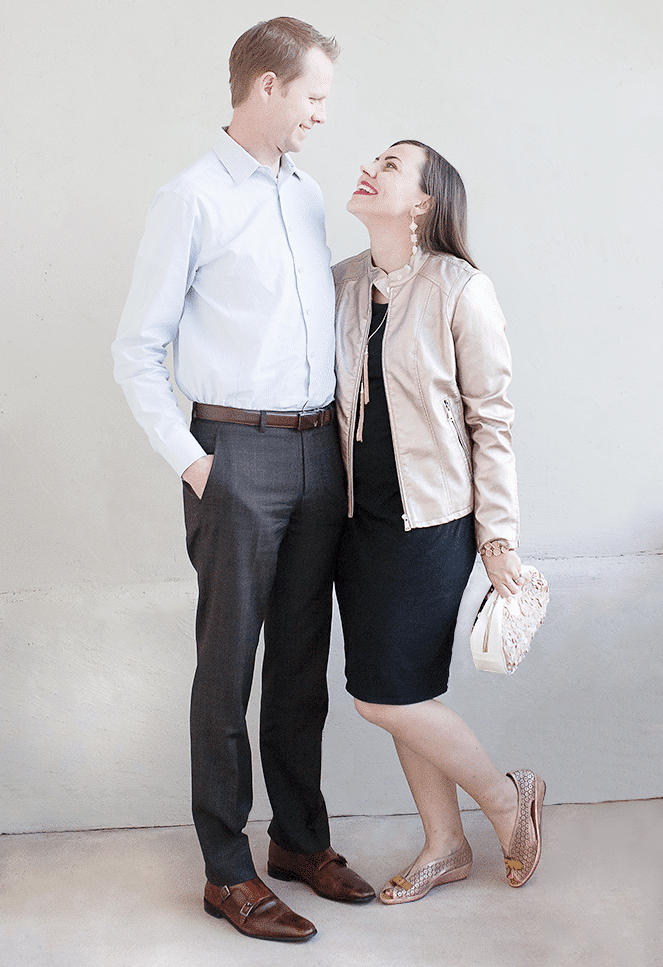 Valentine's Date Outfit: How to put together the perfect date night outfit together with little time and budget!