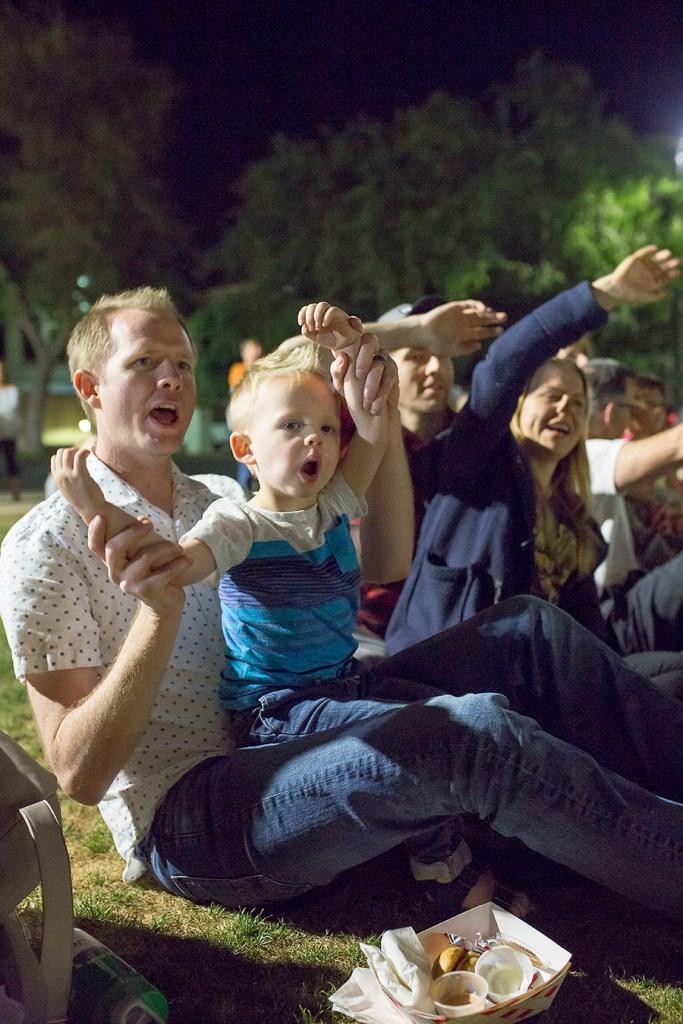 Concert in the park outdoor summer concert series