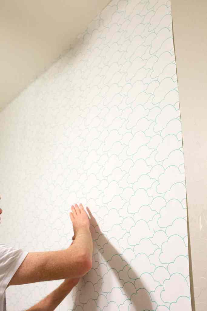 Temporary Wallpaper Installation Instructions