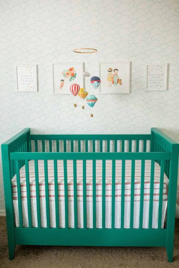 The Wonderful Things You Will Be Nursery: Modern book themed nursery reveal