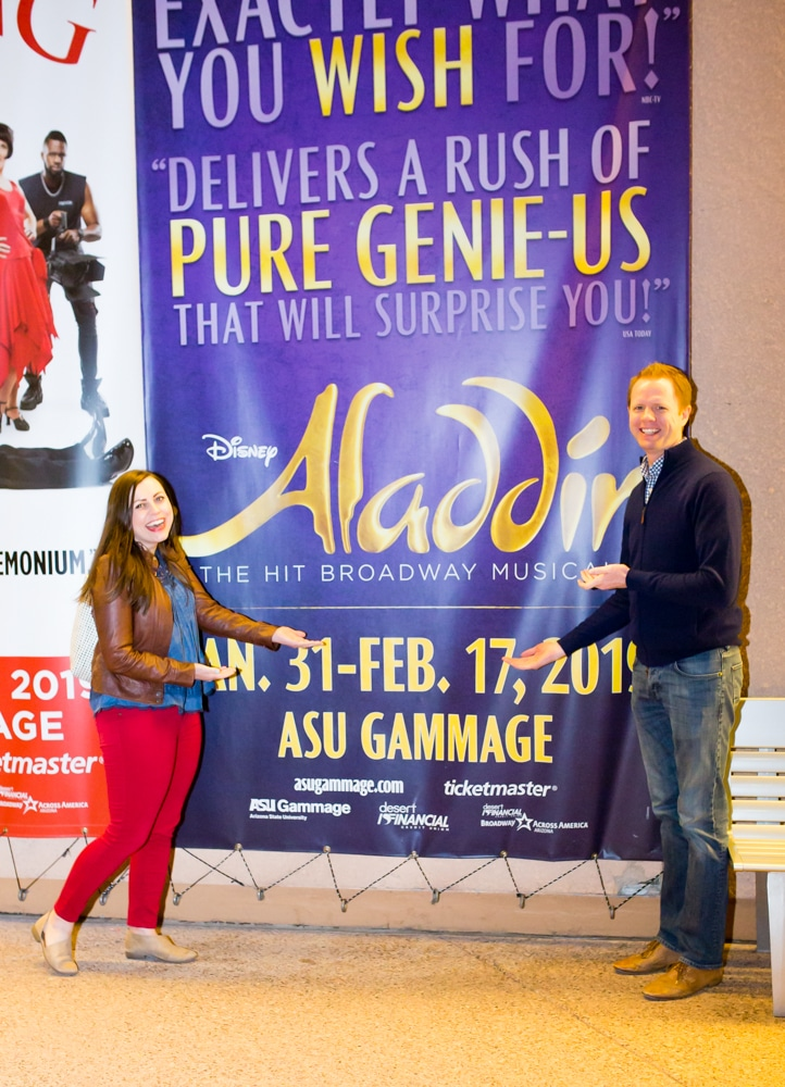 Aladdin the musical review: our date night experience