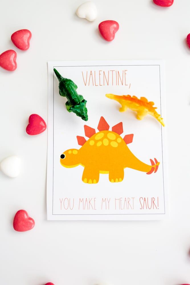 Free Dinosaur Valentines