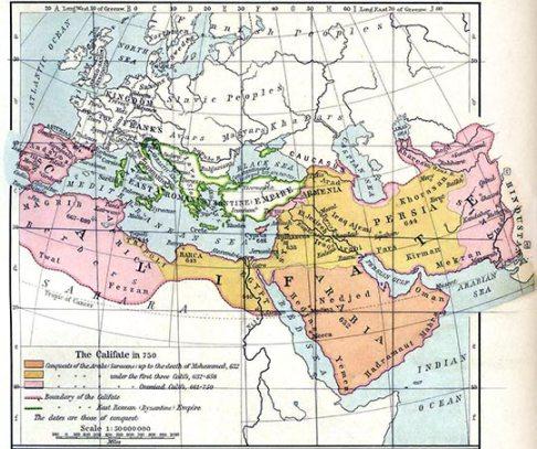 Kalifatens utbredningar