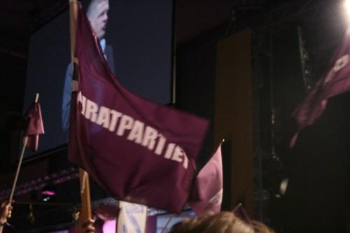 Piratflagga på Dreamhack