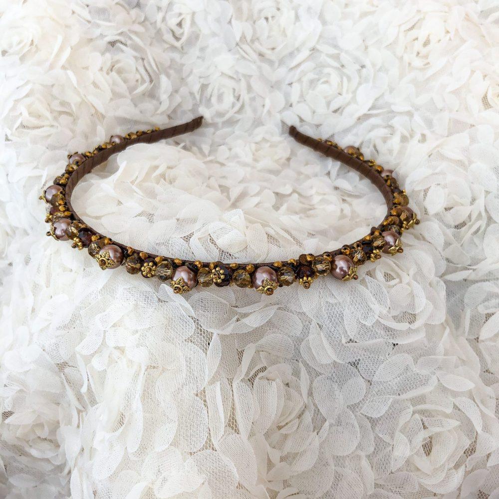 ободок украшение для волос стразы кристаллы украшение на свадьбу