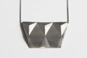 Silber guillochiert