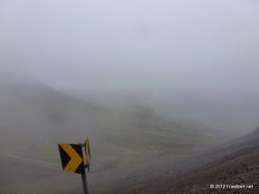 Passstraße zur Hochebene Hellisheiði