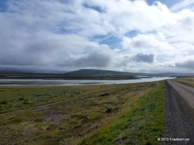 Entlang des Skjálfandafljót zur Bucht von Húsavík