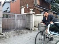 """""""Cyclist"""" in Kawagoe"""