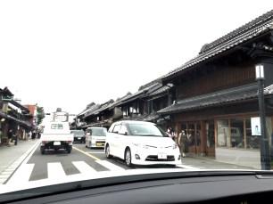 Kawagoe by car Kuramachi