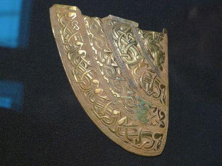 Staffordshire Helmet Fragment
