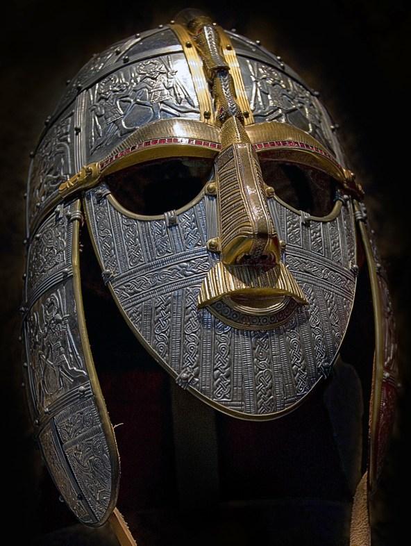 Modern Re-creation of Anglo-Saxon Helmet