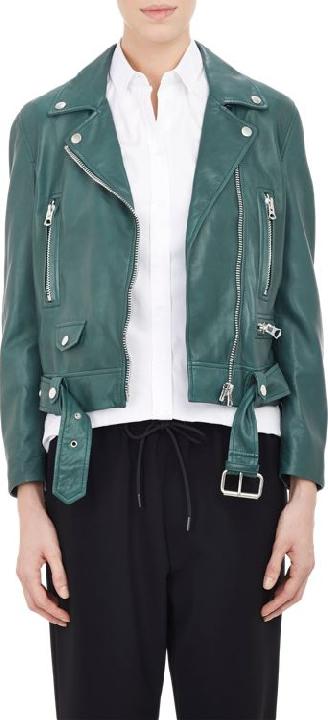 Acne Studios Women's Lambskin Moto JacketFRIEDIA
