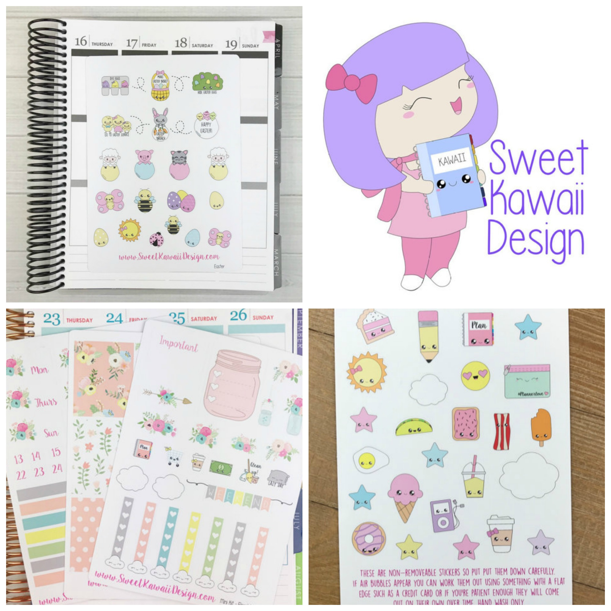 855a71828194f 4 of My Favorite Planner Stickers from Etsy | Friedia