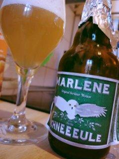 Schneeeule - Marlene Original Berliner Weisse (sehr lecker!)