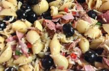 Muffaletta Pasta Salad Recipe