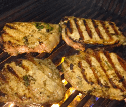 Mexi-Lime Grilled Pork Chops Recipe