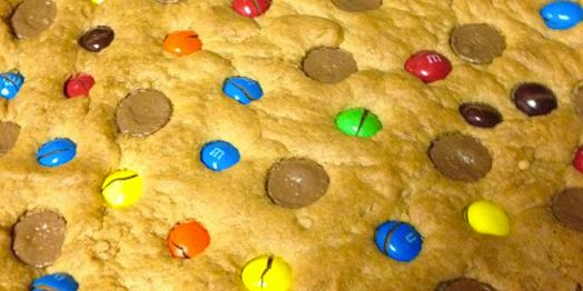 Peanut Butter Lovers Cookie Pie Recipe