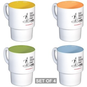Stackable Mugs (Set of 4)
