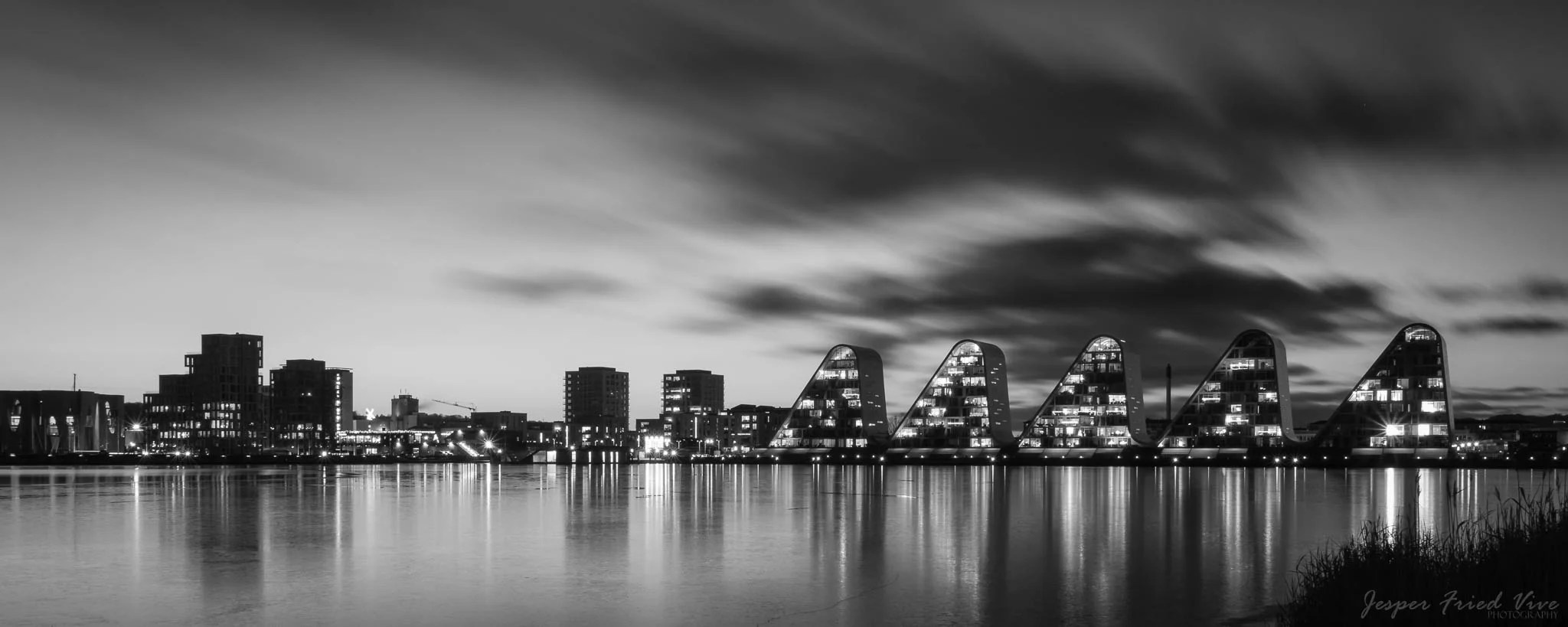 Bølgen i Vejle. Billede taget af fotograf Jesper Fried Vive, Odense