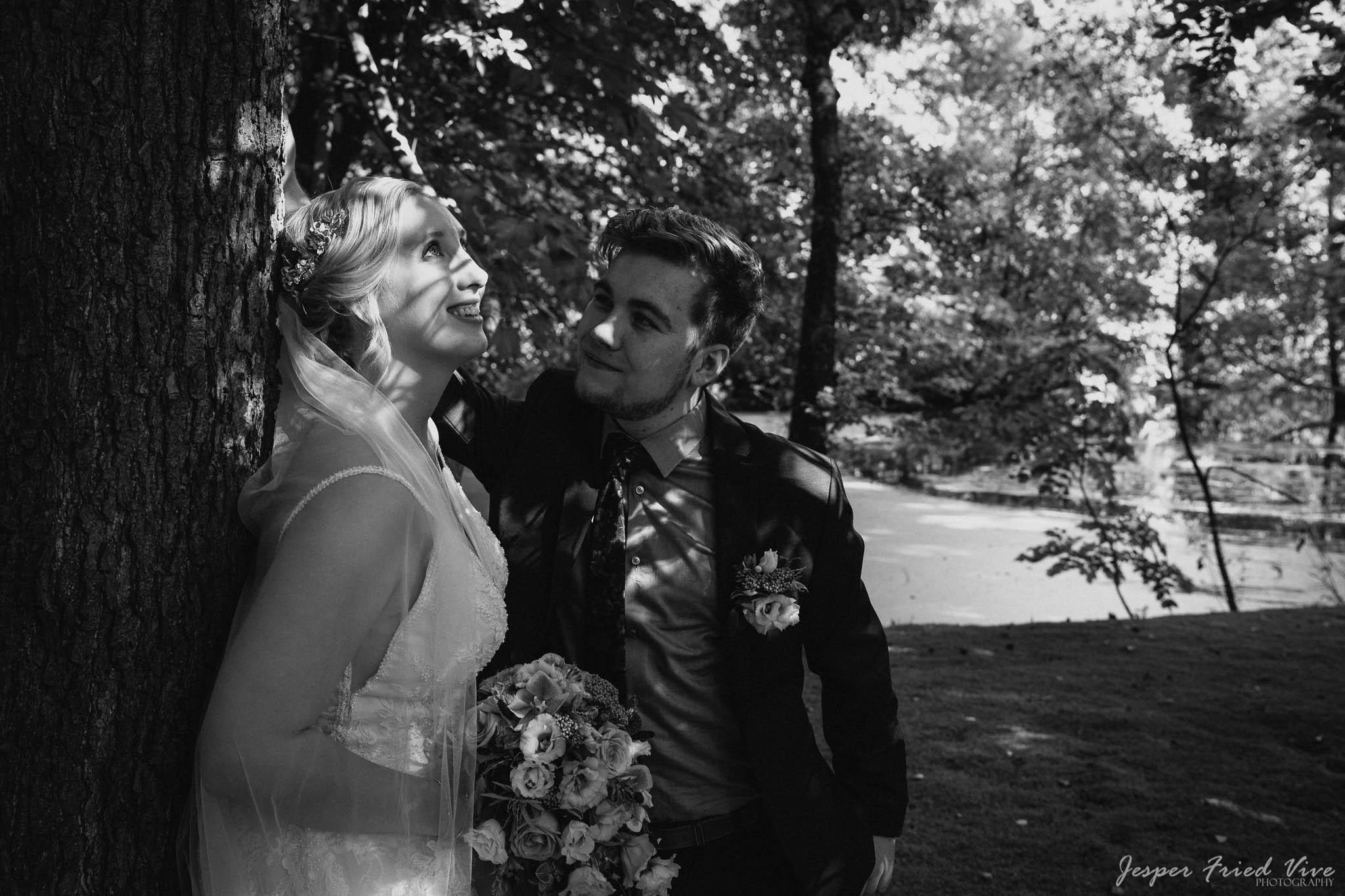 Bryllupsfotograf i Odense - Bryllupsbillede