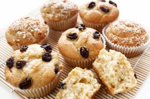 Muffins uten egg, melk og gluten