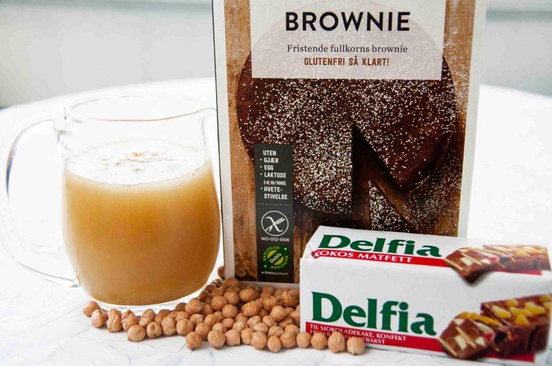 Lettvint brownies uten egg