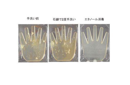 手洗いと消毒のサムネイル