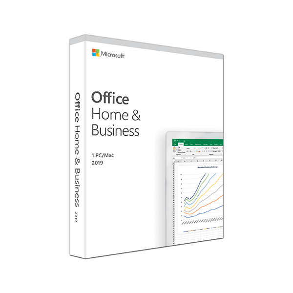 Microsoft Office Home & Business 2019 (PC/Mac) Lifetime 1 device